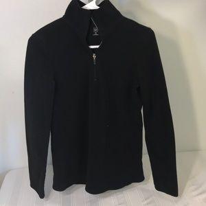 Gap Women's Size M Black Fleece Sweater Sweatshirt